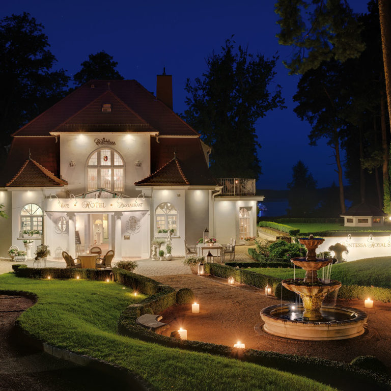 Romantisches Hotel Villa Contessa - Bad Saarow (Brandenburg / Deutschland)