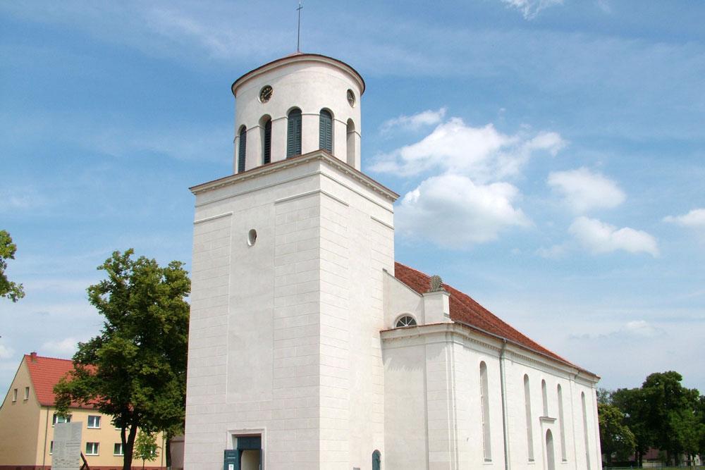 Schloss Neuhardenberg  Schinkelkirche Brandenburg
